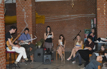 2015. eötvös majális és open mic